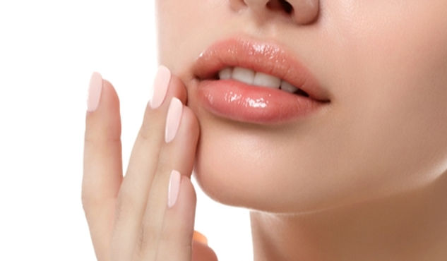 Lippenvolumen / Lippen aufspritzen bei !be natural med in Prien am Chiemsee