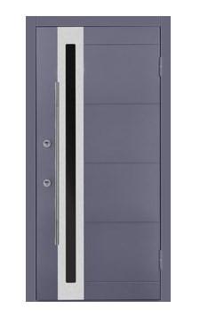 Nova Inox S2 Grey Exterior Door