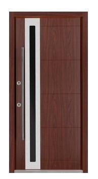 Nova Inox S3 Mahagoyn Exterior Door