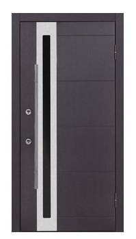 Nova Inox S2 Premium Wenge Exterior Door