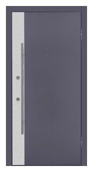 Nova Inox S3 Grey Exterior Door