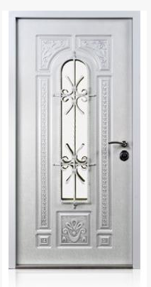 Monarch Entrance Door White