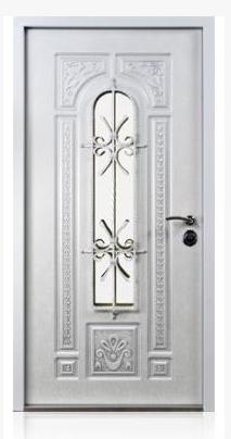 Monarch Entrance Door White