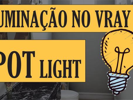 Curso Gratuito de Vray para Iniciantes | Como configurar a iluminação no Vray? | Spot  Light