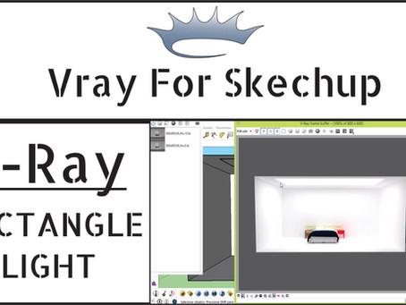 [AULA VRAY] Iluminação Vray | Rectangle Light | Aula Completa | Vray para Sketchup