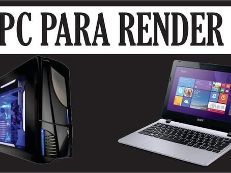 Configuração de PC para renderização no Vray 2018 - Como montar um PC para render