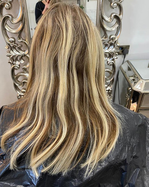 BEFORE HAIR COLOUR (CARRIED OUT BY DIFFERENT SALON)