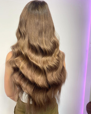 """After 180g Hollywood Weave 20"""""""