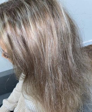 BEFORE HAIR COLOUR (BY ANOTHER SALON)