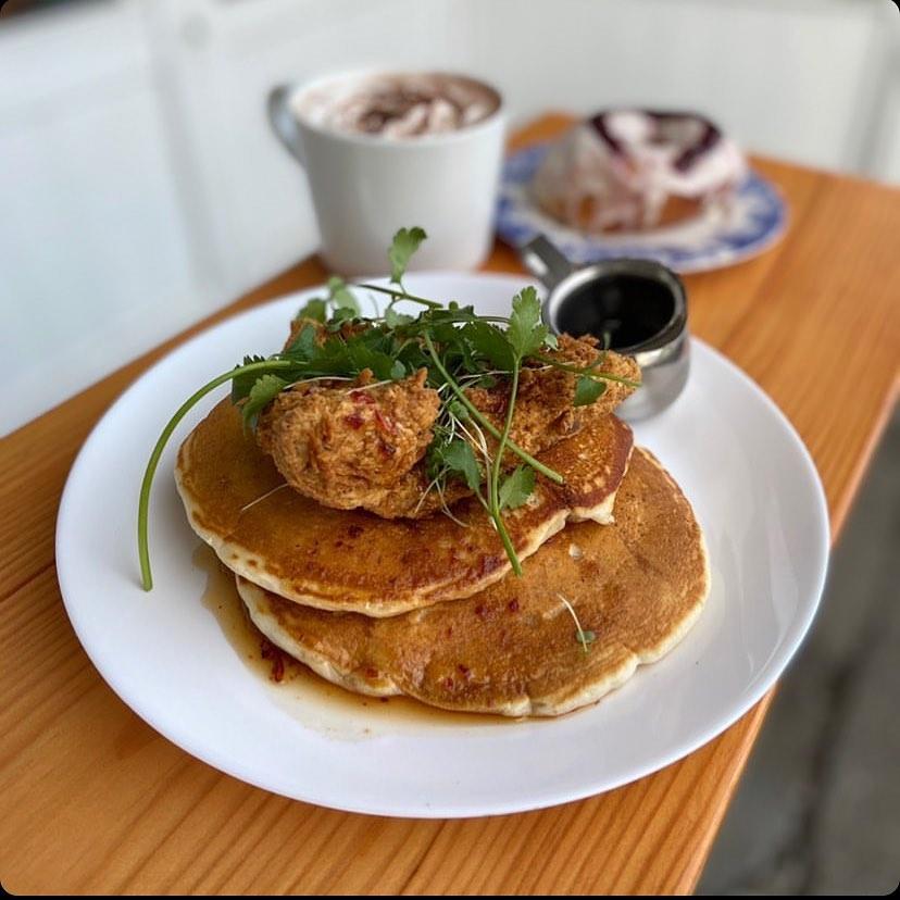 Fried ChickUn N' Pancakes
