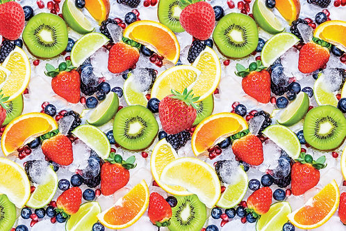 Ледяные фрукты