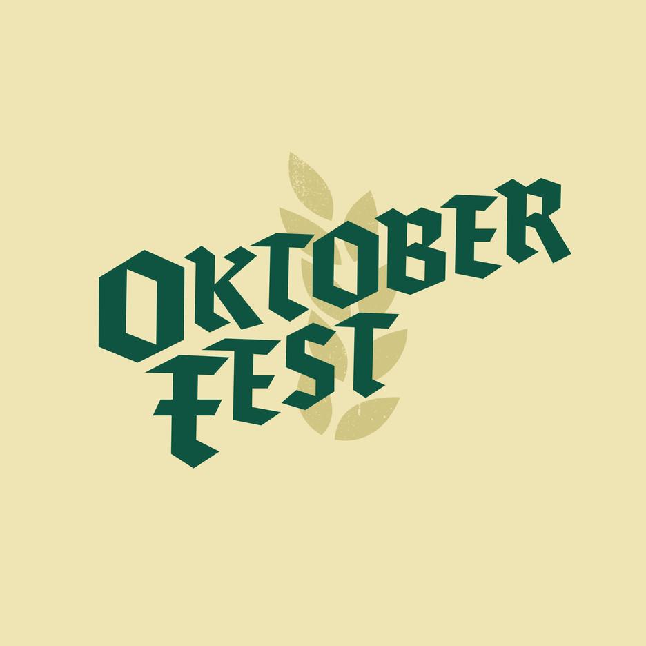 Oktoberfest hand lettering