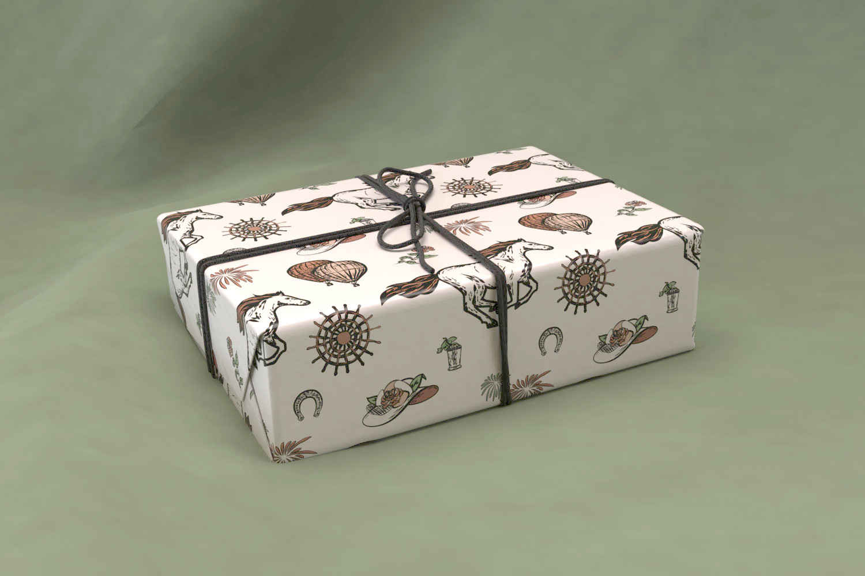 Derby gift wrap