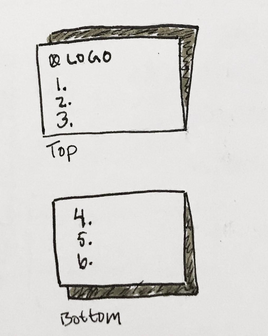 E-ticket sketch