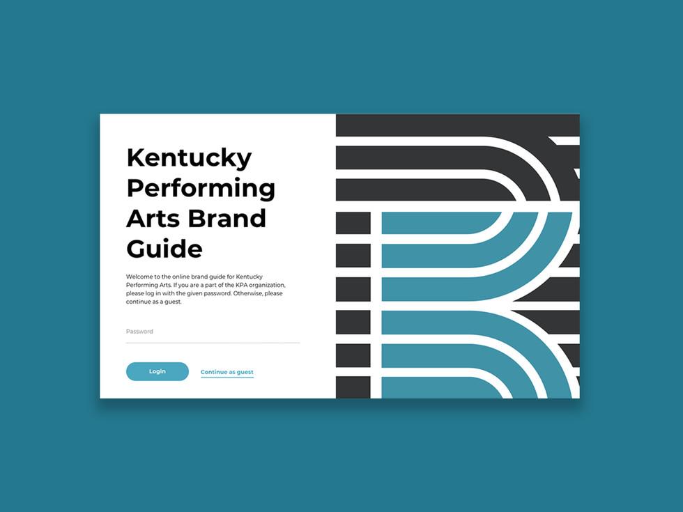 Online brand guide