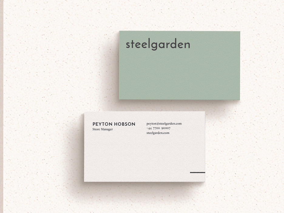 Steelgarden Business Cards