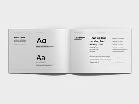 KPA brand book mockup