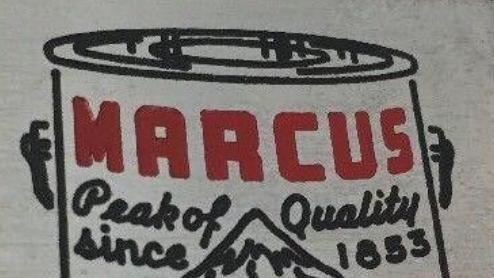 Vintage Marcus Paint logo