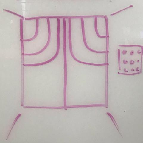 KPA curtain graphic