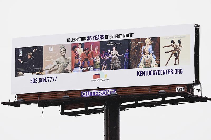 Previous Kentucky Center billboard