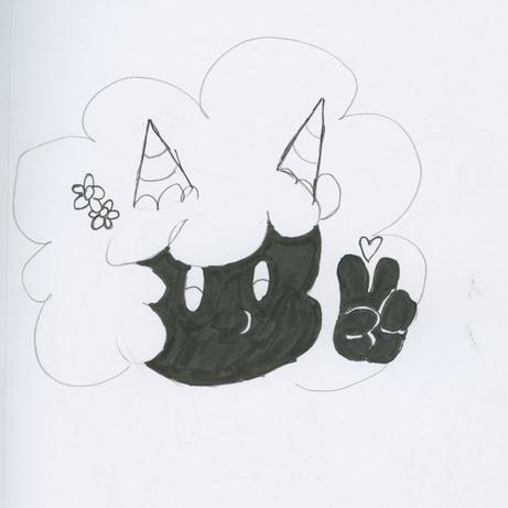 FluffiKiki Minecraft Sketch
