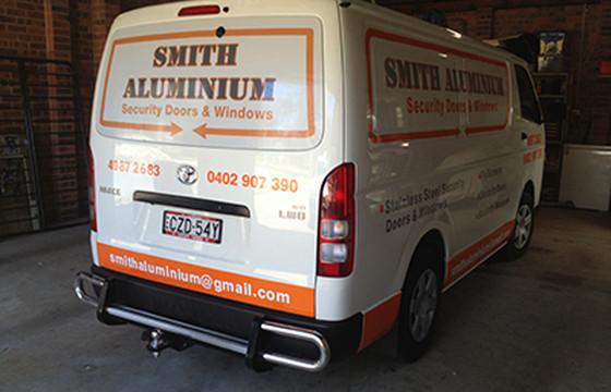 vehicle wrap one way vison fleet signage