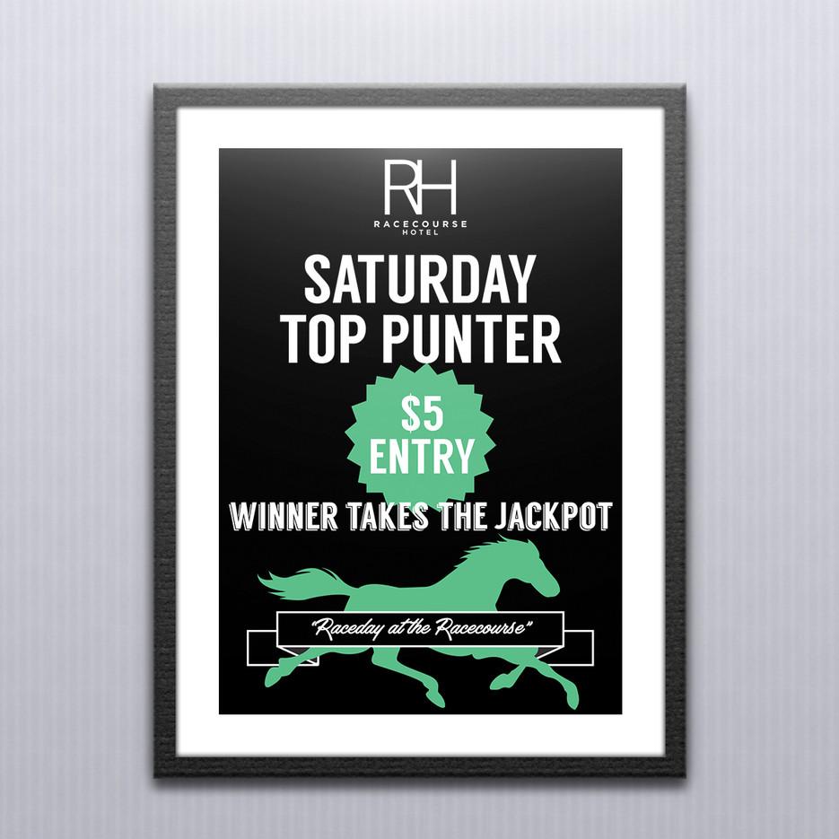 digital print poster graphic design hotel poster