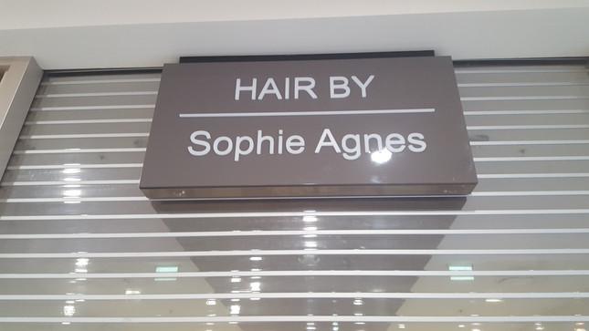shopfront signage illuminated sign