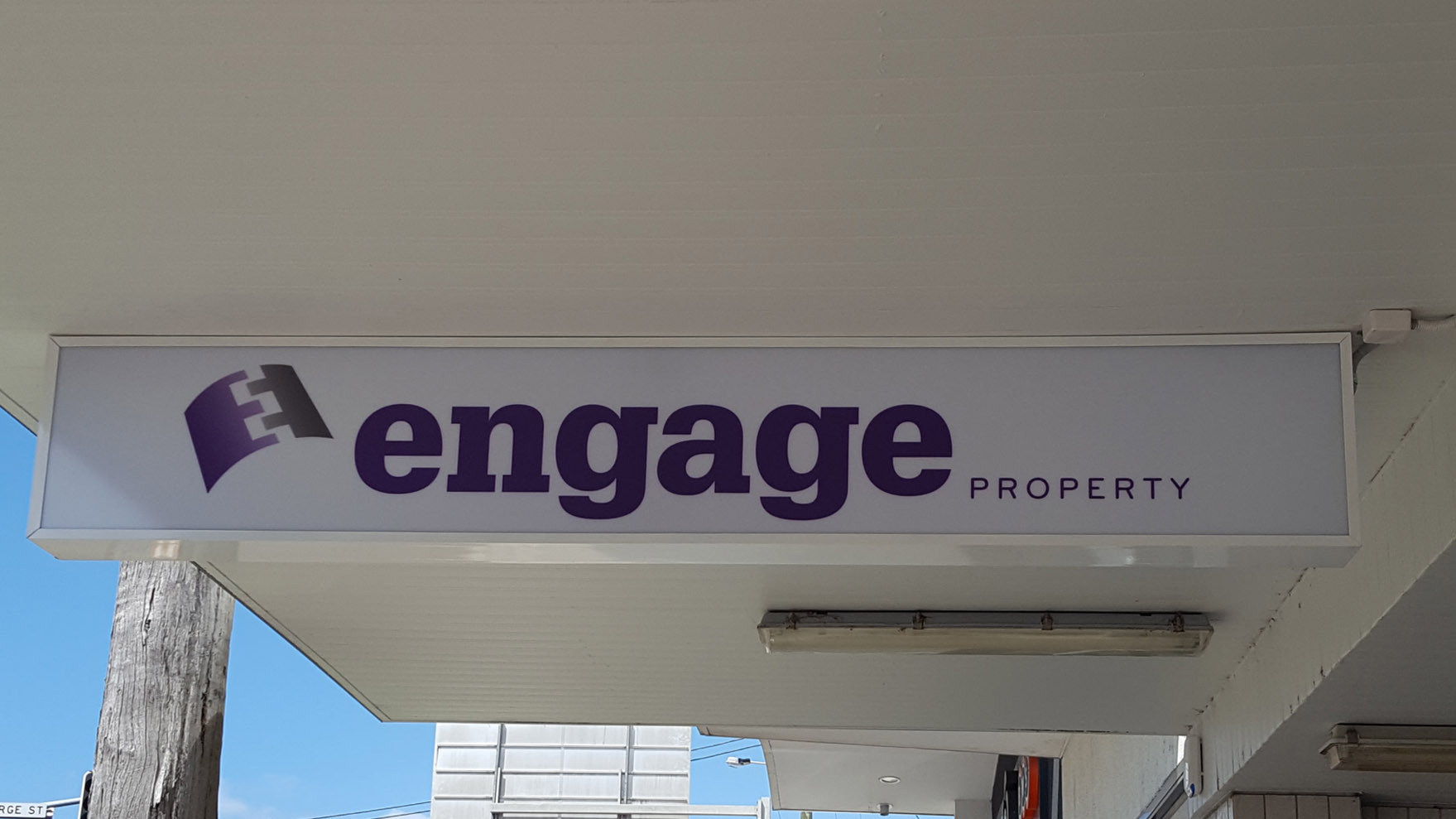 led lightbox real estate sign