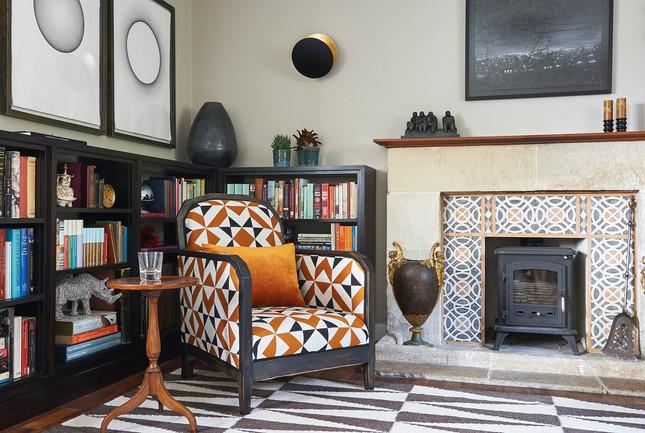 Cotswold Estate Cottage Reading Nook