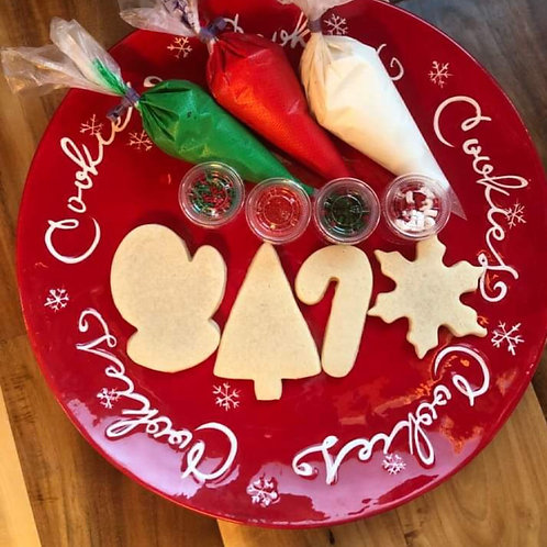 12 Ct Decorate Your Own Cookie Box