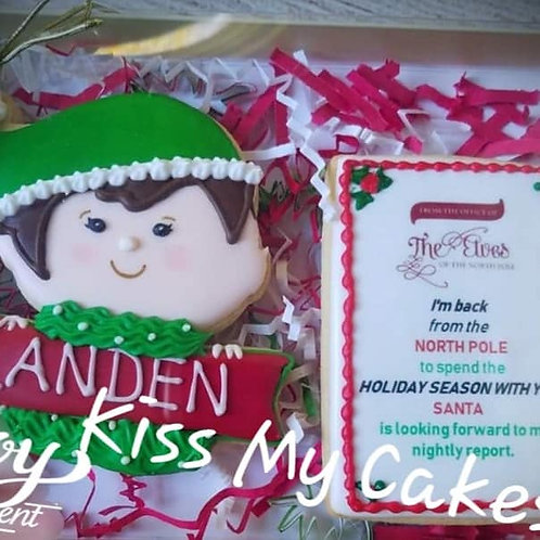 Boy Elf Cookie Set