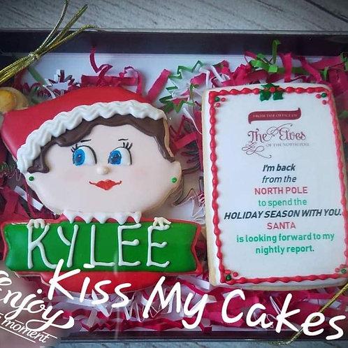 Girl Elf Cookie Set