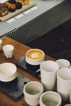A cup of coffee exhibition