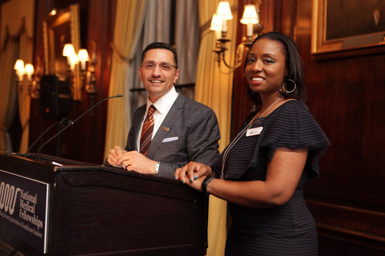 Dr. Ty emcees NMF's NYC gala