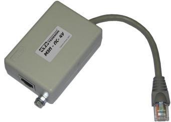 Модуль защиты для сетей работающих по витой паре
