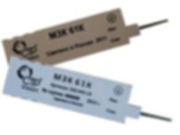 Модуль защиты на 1 пару с 2-мя каскадами защиты
