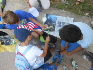 Καταγράφοντας τα φυτά της αυλής μας