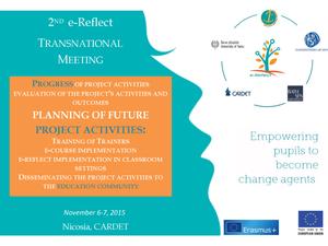 2η Διεθνής Συνάντηση για το Πρόγραμμα e-Reflect