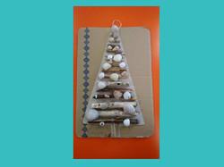 Χριστουγεννιάτικο δέντρο με κοχύλια