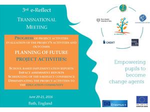 3η Διεθνής Συνάντηση για το Πρόγραμμα e-Reflect