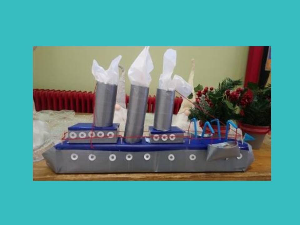 Πλοίο από ανακυκλώσιμα υλικά