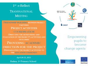 1η Διεθνής Συνάντηση για το Πρόγραμμα e-Reflect