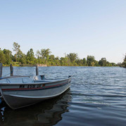 Boats and motors are available for rent.