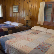 double-beds-windows-cabin-5-riverside-po