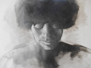 Afro Woman (No 2)