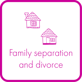 Family separation and divorce