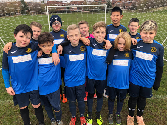 """Walton MK FC U11s link up with local charity """"Emily's Star"""""""