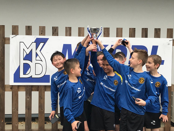 MKDDL Cup Winners U10's Falcons