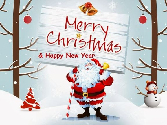 Wish you a merry christmas and a happy New Year!